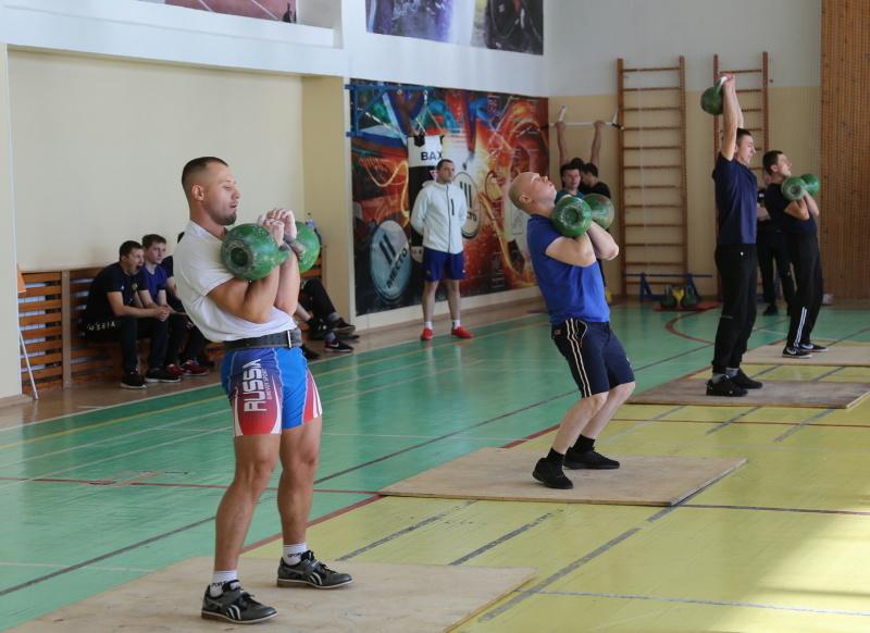 Итоги соревнований по гиревому спорту среди сотрудников Главного Управления