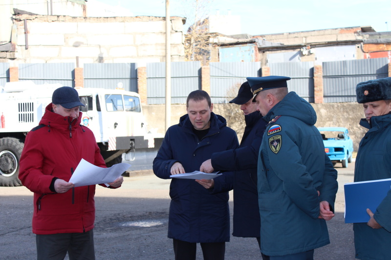 Первый заместитель Главы города посетил Специализированную пожарно-спасательную часть